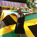 Partying Jamaica-style!