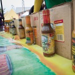 Sauces for sale. Marchfest 2012. Photo courtesy David Letsche Photography.
