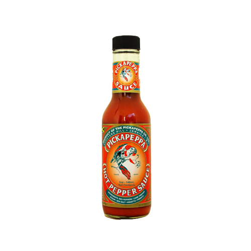 Pickapeppa Hot Pepper Sauce - 140ml - West Indies Spice Traders Ltd ...